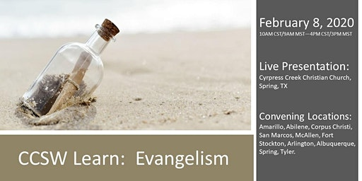 CCSW Learn: Evangelism
