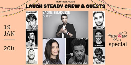 Laugh Steady Crew - Stand up & music live #2 billets