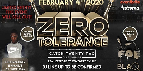 BLAQ NYTES & FALL OFF ENTERTAINMENT - ZERO TOLERANCE tickets