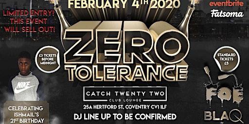BLAQ NYTES & FALL OFF ENTERTAINMENT - ZERO TOLERANCE