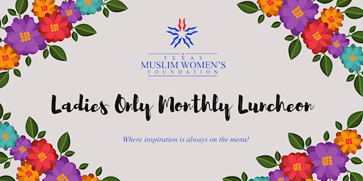 TMWF Ladies Only Monthly Luncheon - January 2020