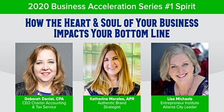 How the Heart and Soul of Your Business Impacts Your Bottom Line tickets