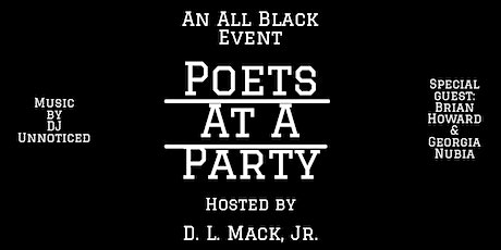 Poets At A Party tickets