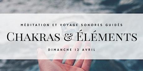 Voyage sonore - Chakras et Éléments billets