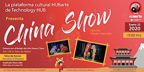 China Show boletos