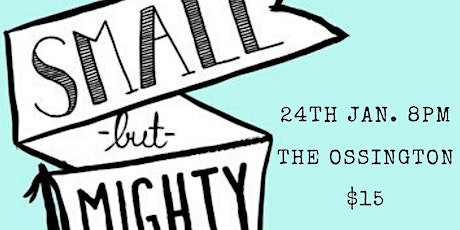 Small But Mighty Comedy tickets