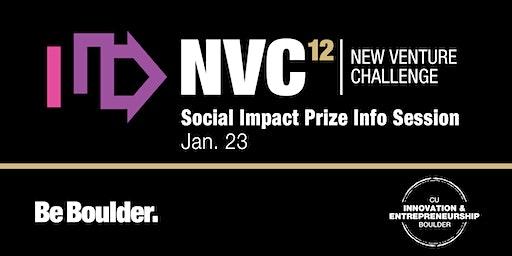 NVC 12:  Social Impact Prize Info Session