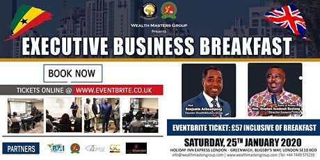 Executive Business Breakfast tickets