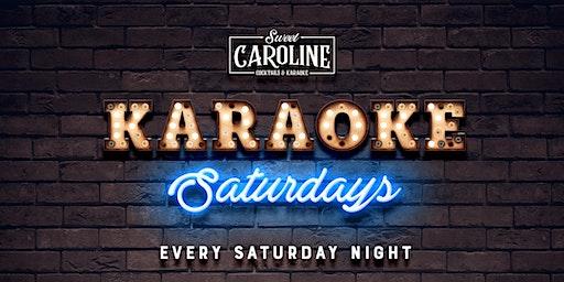 Karaoke Saturdays at Sweet Caroline - Miami's Best Karaoke Bar!