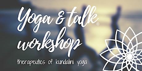 Yoga & Talk Workshop - Combat Depression tickets