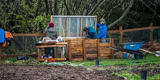Volunteer Sign Up: Community Garden Work Party