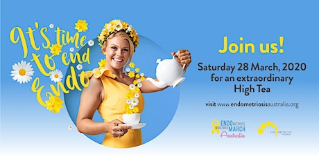 Adelaide - EndoMarch  High Tea 2020 tickets