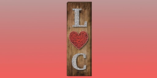 Personalized Valentine's Day String Art: Sip and Craft at Watergrasshill B&B!!!!