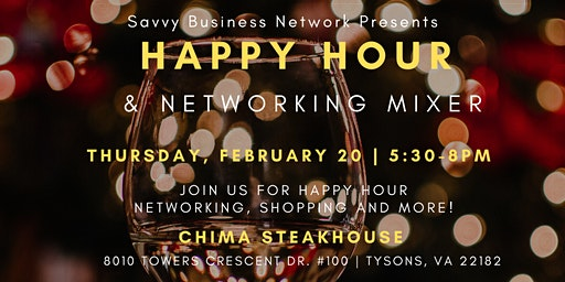 Happy Hour and Networking Social @ Chima Steakhouse