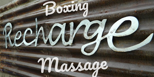 Recharge Your Body: Boxing + Massage