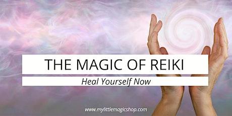 The Magic of Reiki: Usui Tibetan Reiki 1 Certification tickets