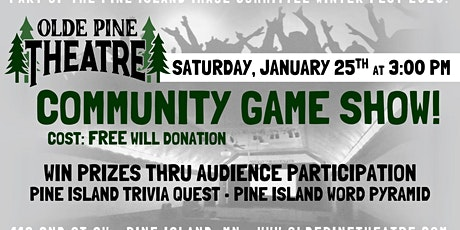 Pine Island Community Game Show tickets