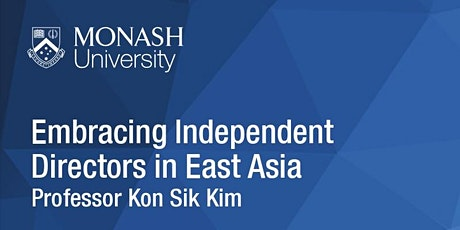 CLARS Seminar Series: Embracing Independent Directors in East Asia tickets