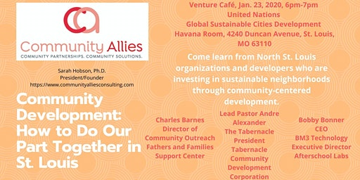 Community Development: How to Do Our Part Together in St. Louis