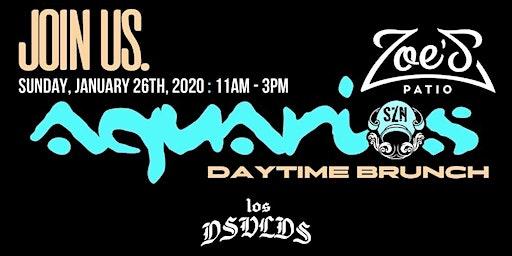 Aquarius SZN: A Daytime Brunch Party