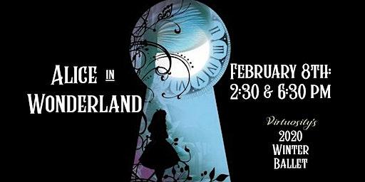Alice in Wonderland Winter Ballet 2020 Saturday 6:30