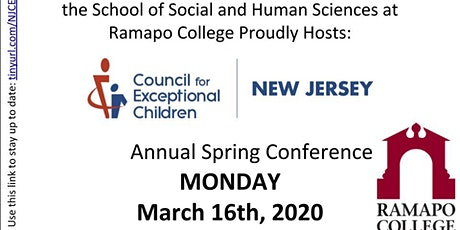 Embracing the Whole Child - NJCEC Spring 2020 Conference tickets