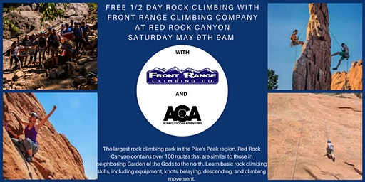 FREE 1/2 Day Rock Climbing at Red Rock Canyon with Always Choose Adventures