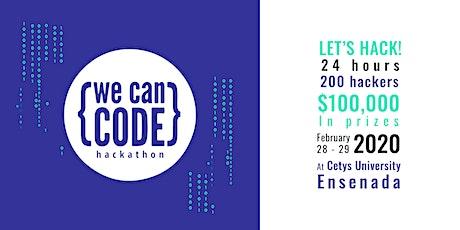 WeCanCode Hackathon 2020 boletos