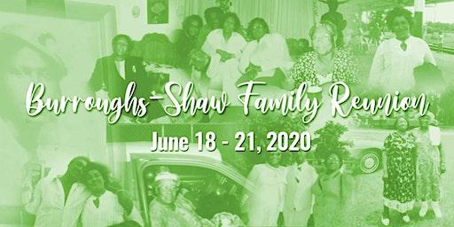 Burroughs-Shaw Family Reunion