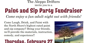 Aleppo Drifters Paint And Sip Party Fundraiser