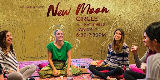 New Moon Flower Essence Circle