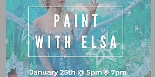 Paint With Elsa