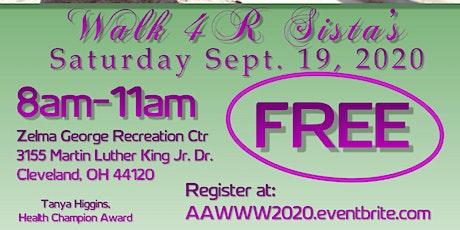 NEO African American Women's Wellness Walk Walk 4 R Sista's 2020 tickets
