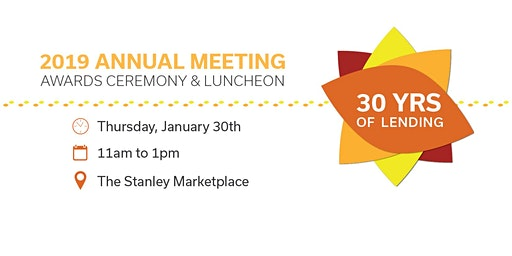 2019 Annual Meeting: Awards Ceremony & Luncheon