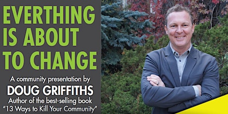 Everything is About to Change - Estevan tickets