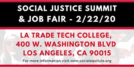 SELA - Social Justice Summit & Job Fair tickets