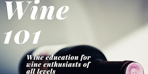 Crafts & Vines- Wine 101 Educational Series