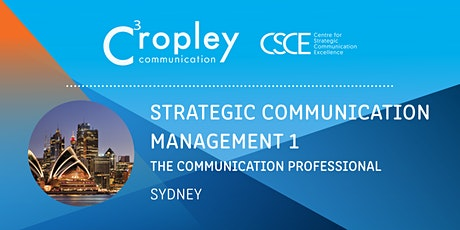 Strategic Communication Management 1: The Communication Professional tickets