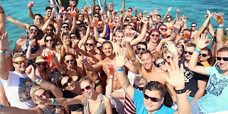 Miami Boat Party Jet-ski included + Open Bar & Party bus tickets