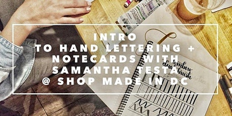 Intro to Hand Lettering with Samantha Testa tickets