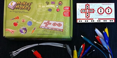 Makey Makey Workshop, Ages 6-12, FREE tickets