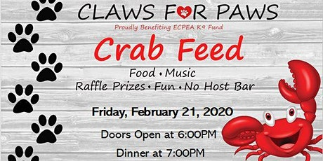 El Cerrito PEA K9 Crab Feed  tickets