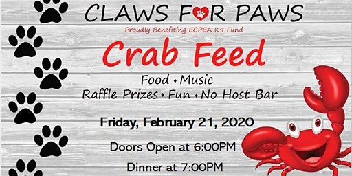 El Cerrito PEA K9 Crab Feed
