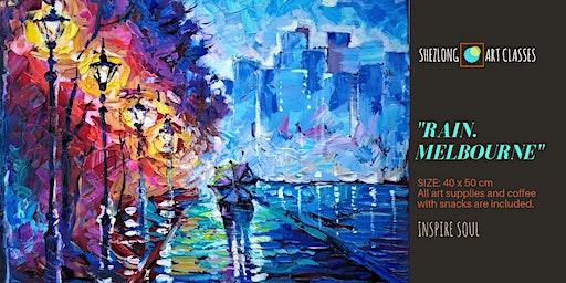 RAIN. MELBOURNE-social painting workshop