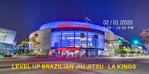 Level Up Jiu Jitsu - LA Kings - Live! at Staples Center in Los Angeles, CA