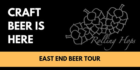 Historical Craft Beer Tour - East End tickets