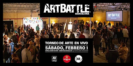 Art Battle Barcelona - 1 de febrero, 2020 entradas