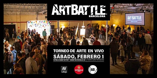 Art Battle Barcelona - 1 de febrero, 2020