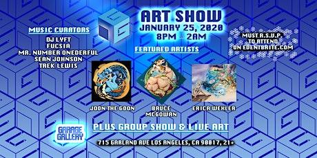 Garage Gallery 2020 Art Show tickets