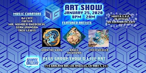 Garage Gallery 2020 Art Show
